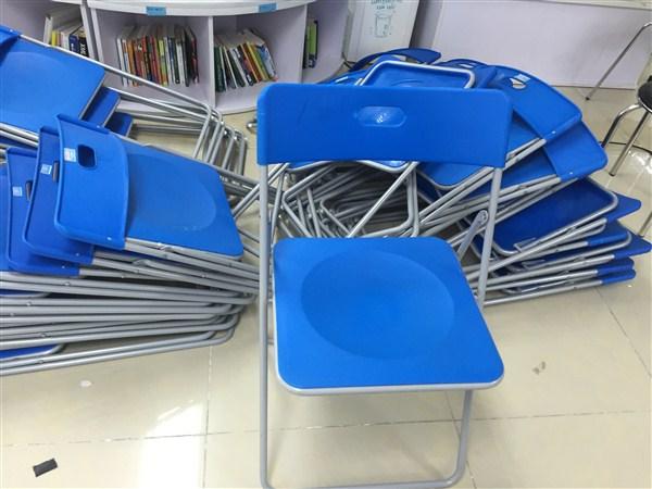Địa chỉ thanh lý ghế gấp nhựa uy tín tại Hà Nội chất lượng tốt