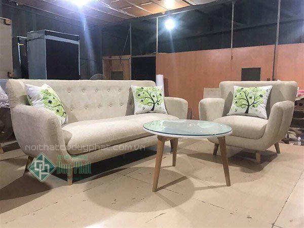 Tư vấn nên chọn sofa da hay sofa nỉ cho phòng khách gia đình