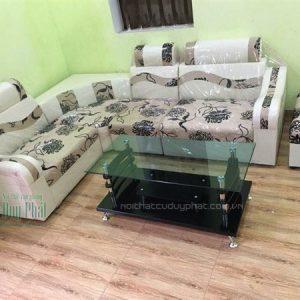 Mẫu thanh lý sofa Bắc Giang bằng chất liệu da