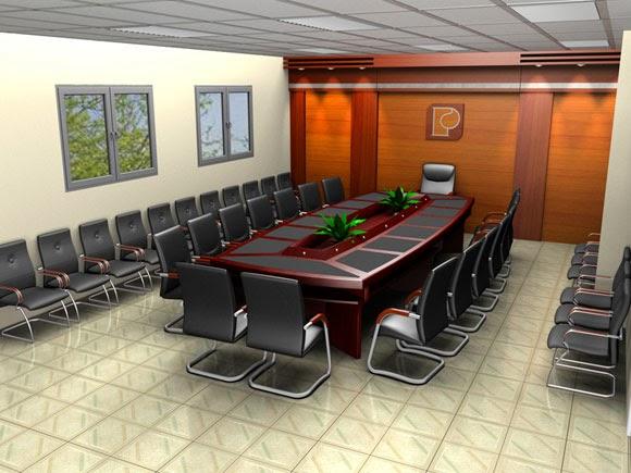 Cách kê bàn họp văn phòng hợp phong thủy theo xu hướng hiện đại 2
