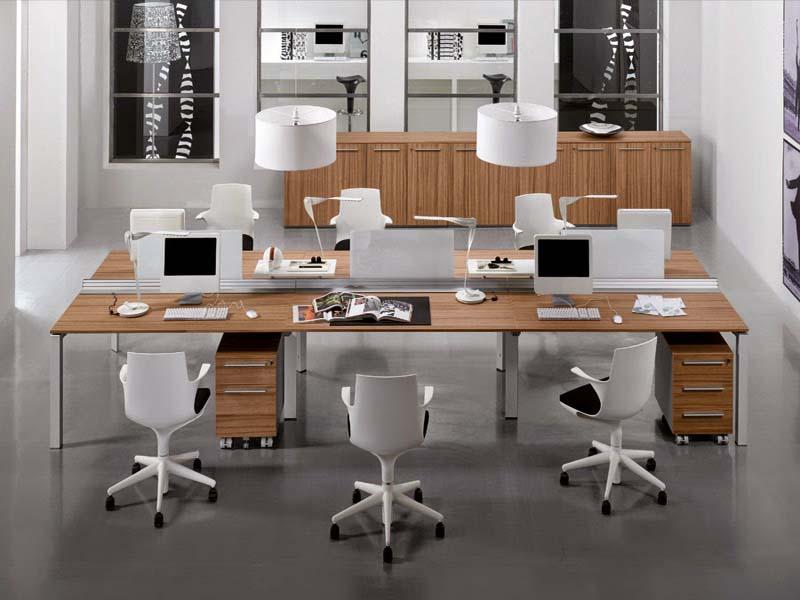 Thi công nội thất văn phòng thông minh là tạo được không gian làm việc thoải mái cho nhân viên