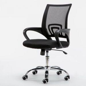 Không thể không nhắc đến ghế chân xoay trong số những mẫu bàn ghế văn phòng hiện đại đẹp