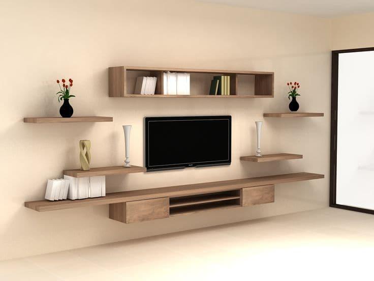 Kệ trang trí tivi chú trọng về chất liệu, chất lượng và thiết kế để tiện ích nhất cho gia đình